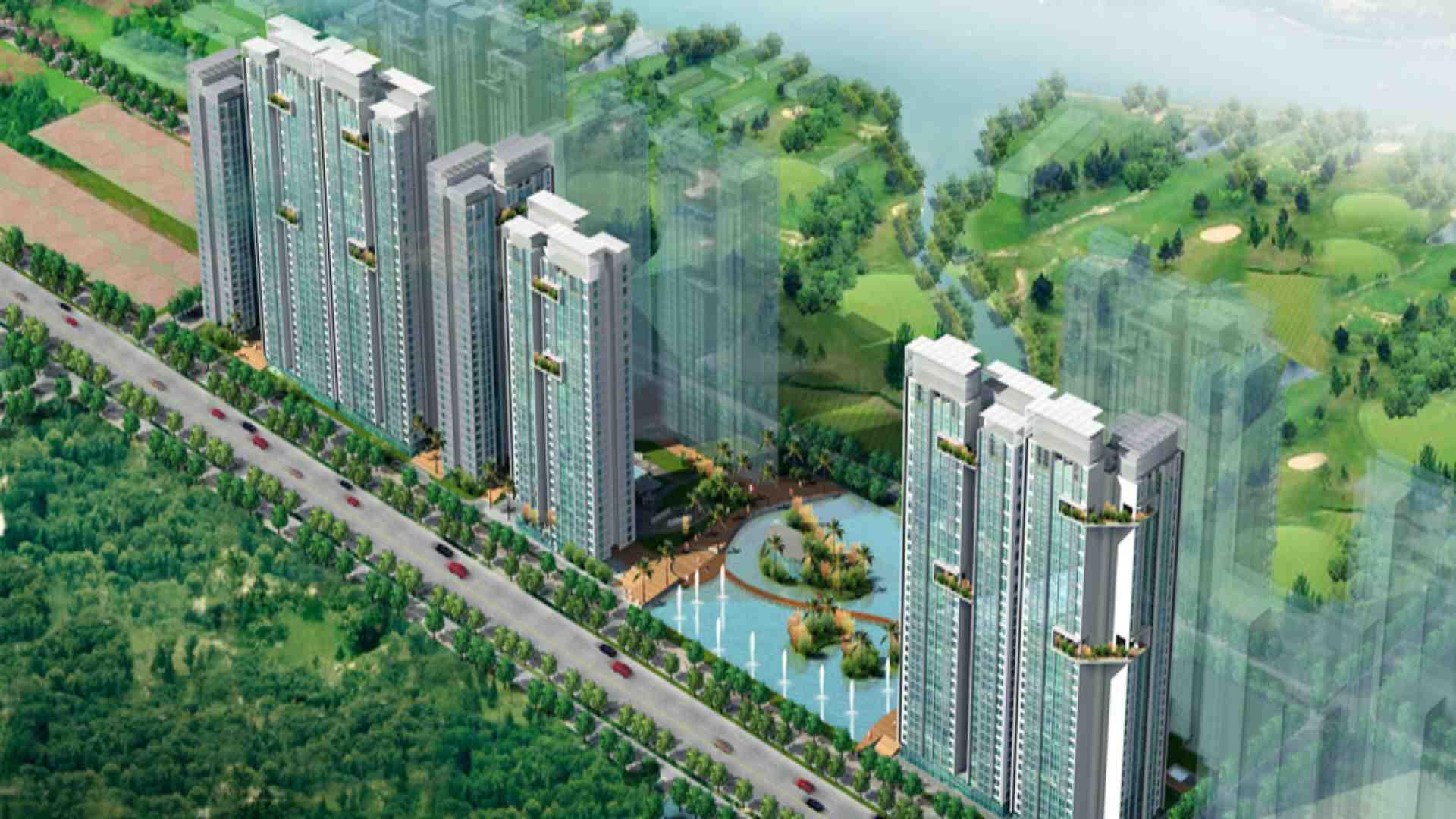 Dự án khu căn hộ cao cấp Phú Hoàng Anh 2