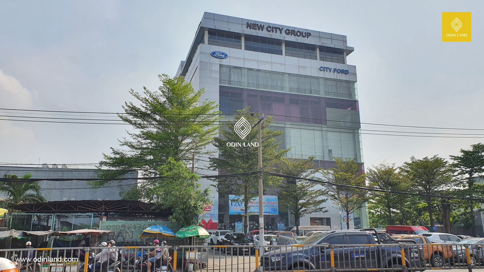 Dự Án tòa nhà New City Elevator And Industries